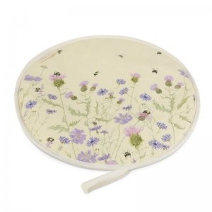 Bee and Flower Hob Cover