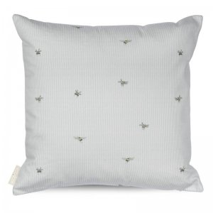 Bee and Stripe Cushion