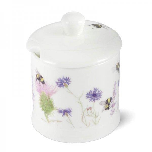 Bee and Flower Jam/ Honey Pot