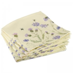 Bee and Flower Napkins