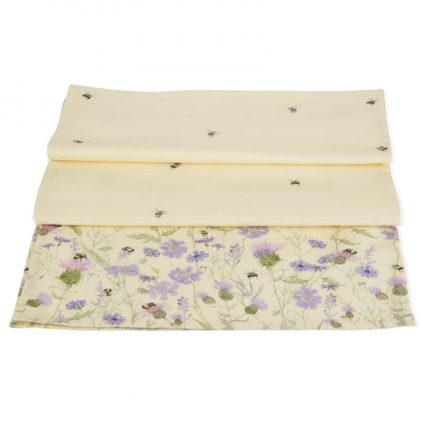 Bee and Flower Table Runner