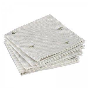 Bee and Stripe Napkins