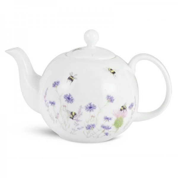 Bee and Flower Teapot