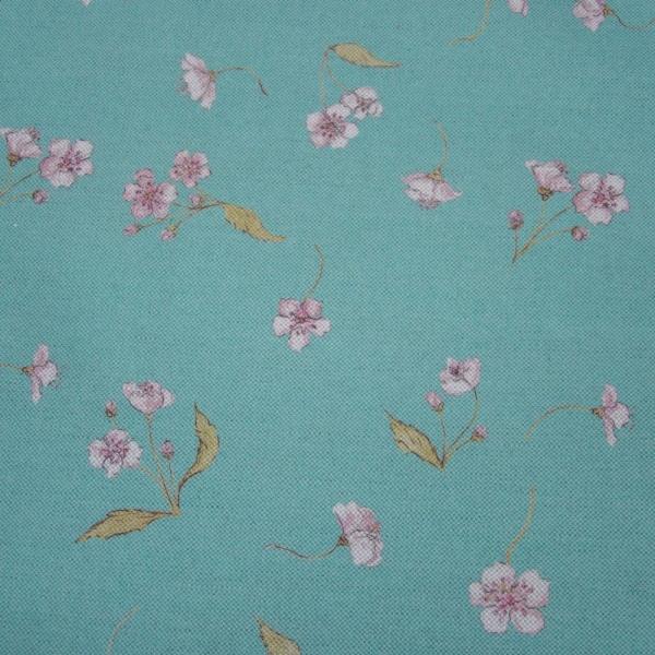 Blossom Azure Sky Fabric