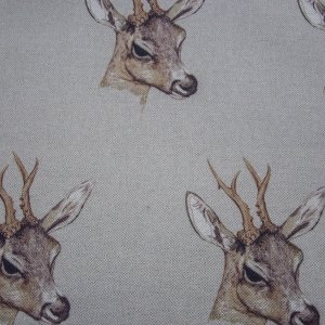 Deer head fabric