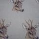 Deer head fabric