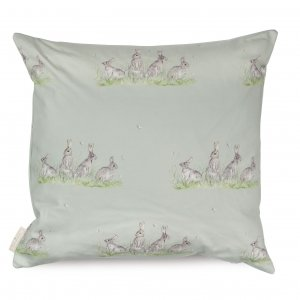 Edgar Green Bunny Cotton Cushion