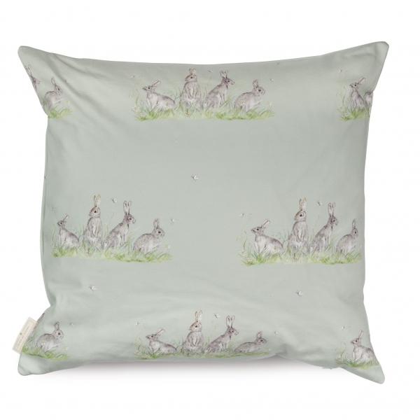 Edgar Green Bunny Cotton Cushion