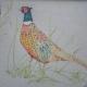 Large Pheasant Fabric (per metre) Large Pheasant Fabric