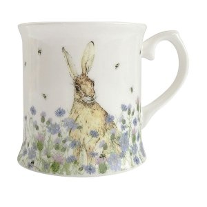 Hare & Wildflower Mug