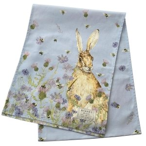 Hare & Wildflower Table Runner