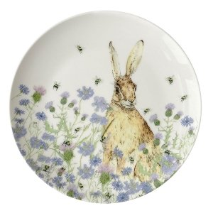 Hare & Wildflower Side Plate